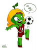 Lima playing soccer