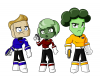 Captain Crouton and the Salad Shooters lineup